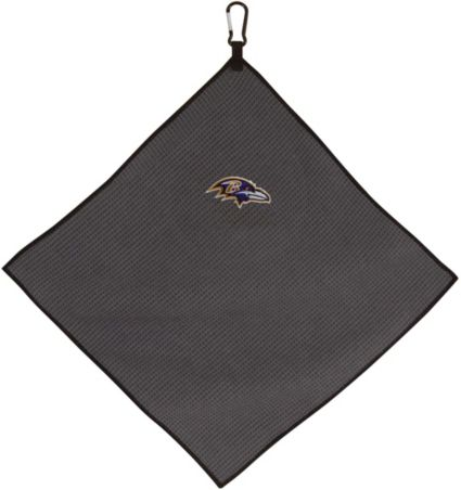 "Team Effort Baltimore Ravens 15"" x 15"" Microfiber Golf Towel"