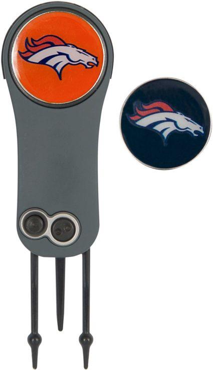 Team Effort Denver Broncos Switchblade Divot Tool and Ball Marker Set