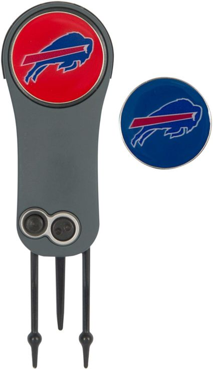 Team Effort Buffalo Bills Switchblade Divot Tool and Ball Marker Set