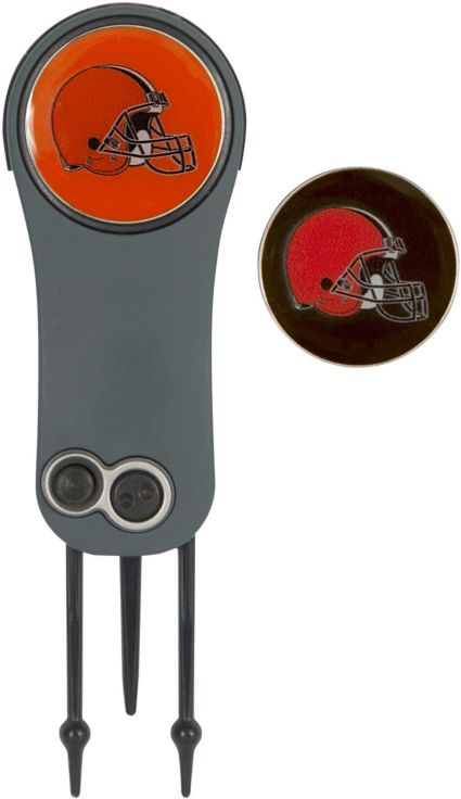 Team Effort Cleveland Browns Switchblade Divot Tool and Ball Marker Set