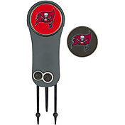 Team Effort Tampa Bay Buccaneers Switchblade Divot Tool and Ball Marker Set