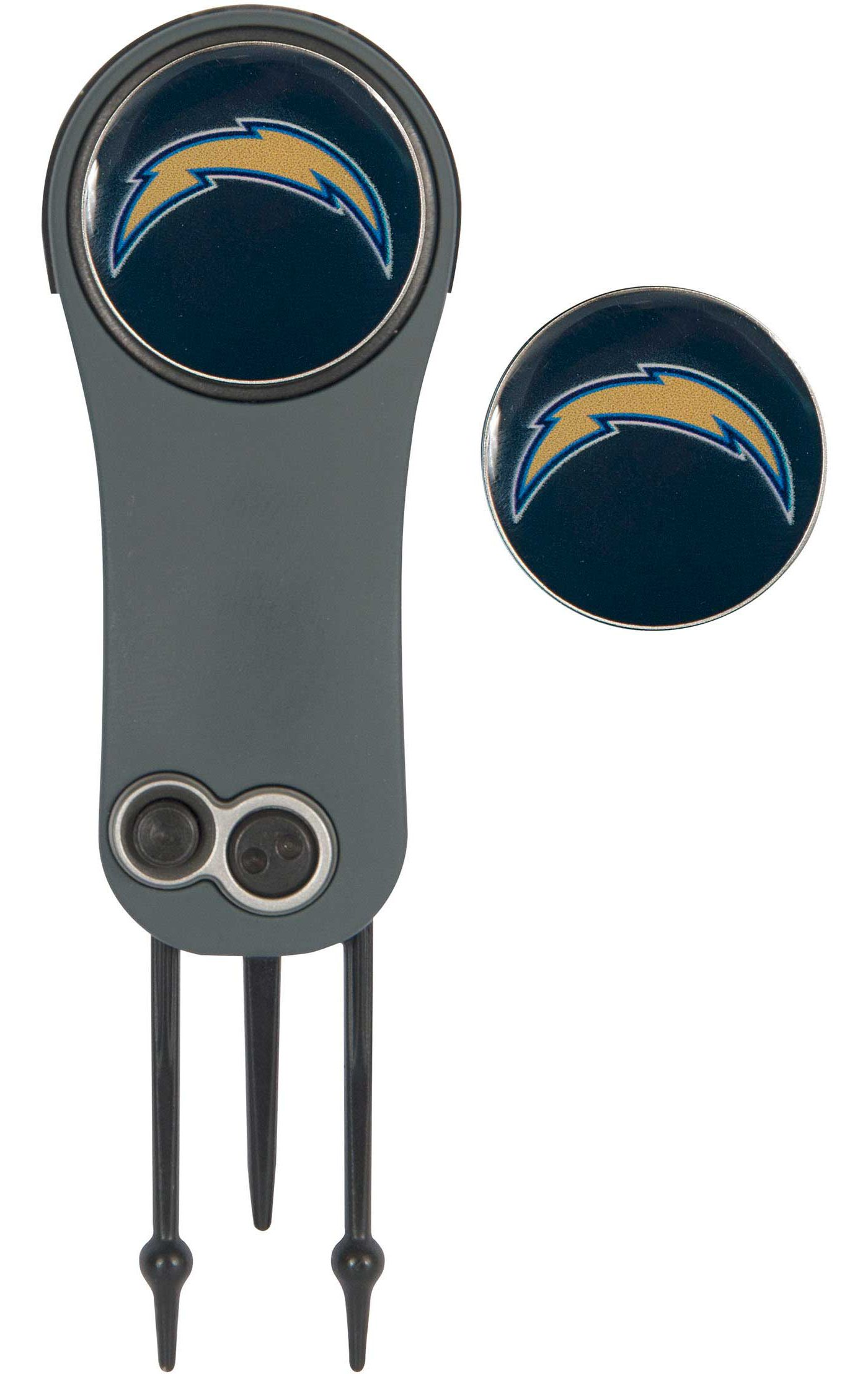 Team Effort Los Angeles Chargers Switchblade Divot Tool and Ball Marker Set