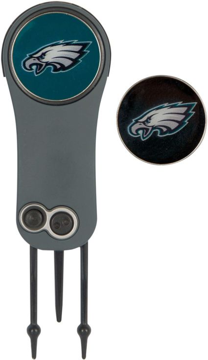 Team Effort Philadelphia Eagles Switchblade Divot Tool and Ball Marker Set