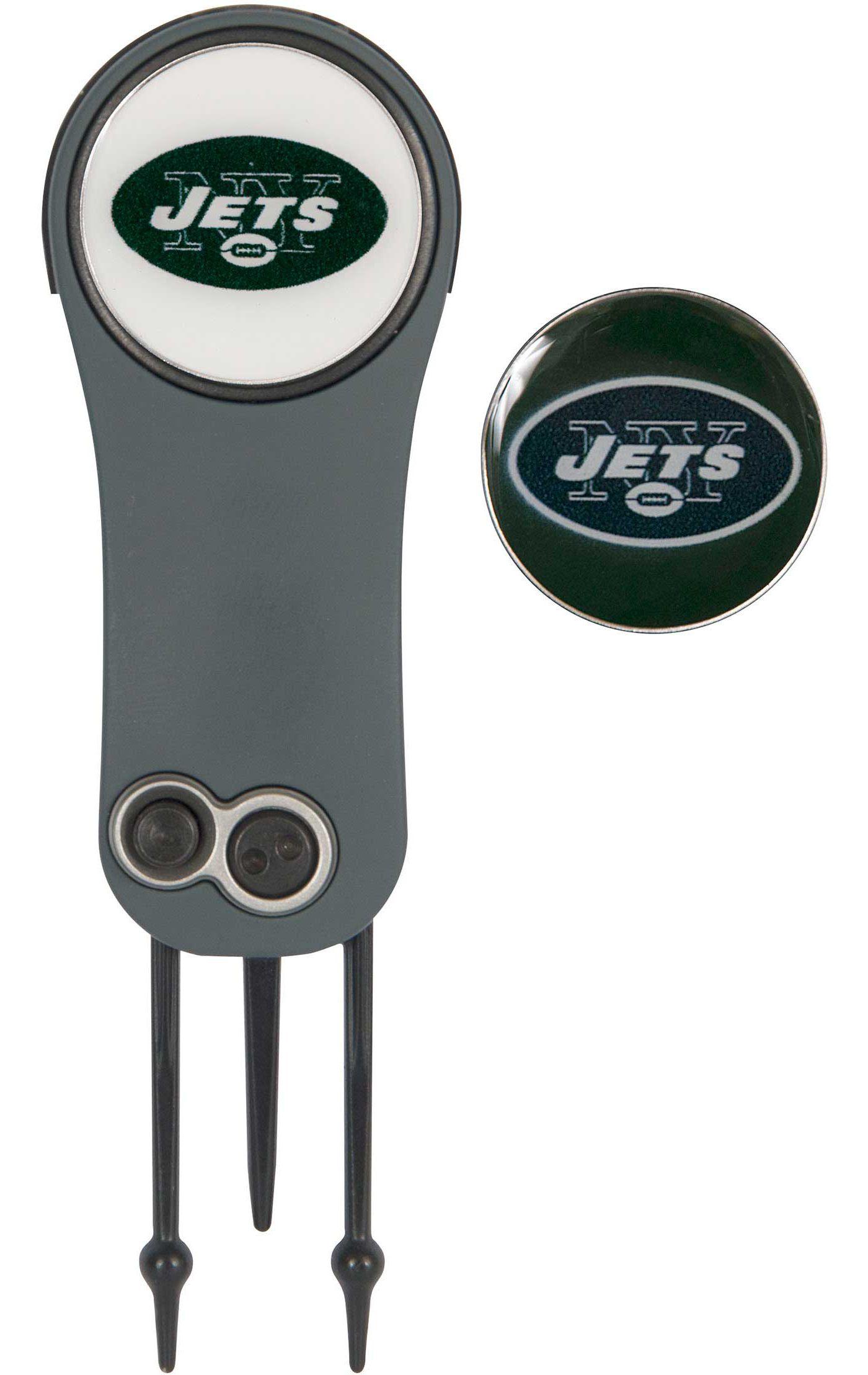 Team Effort New York Jets Switchblade Divot Tool and Ball Marker Set