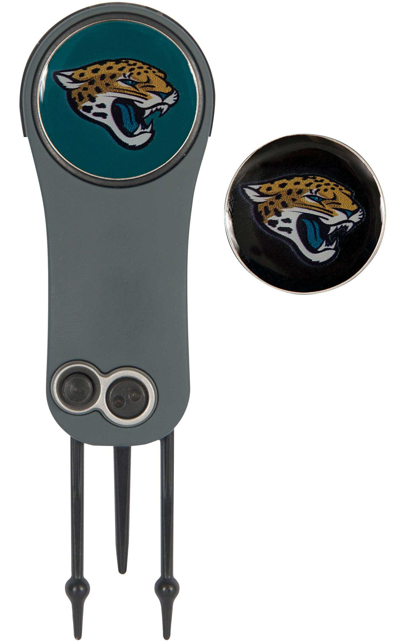 Team Effort Jacksonville Jaguars Switchblade Divot Tool and Ball Marker Set