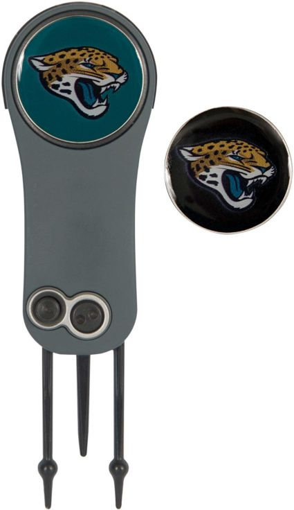 Team Effort Jacksonville Jaguars Switchblade Divot Tool and Ball Marker Set