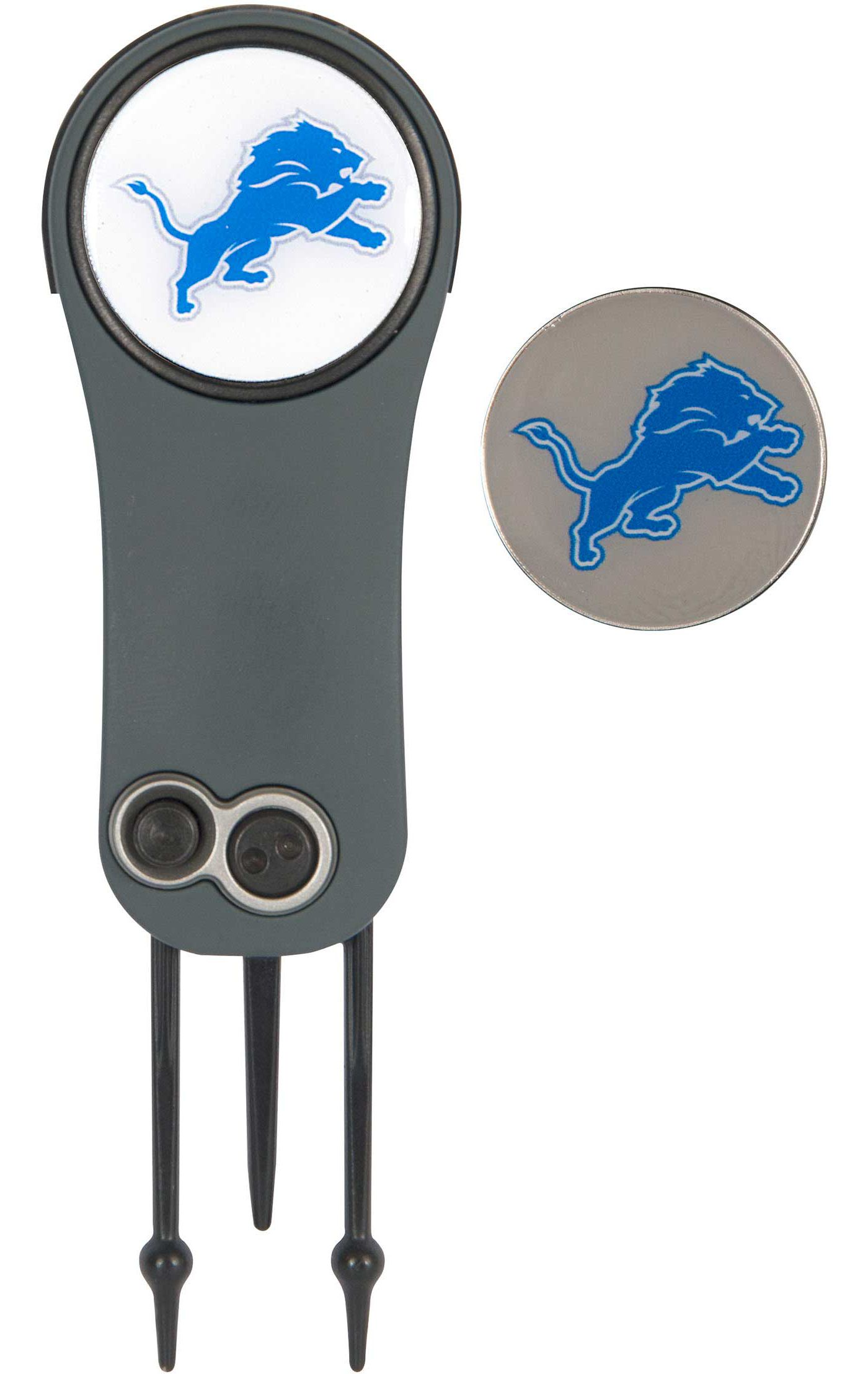Team Effort Detroit Lions Switchblade Divot Tool and Ball Marker Set