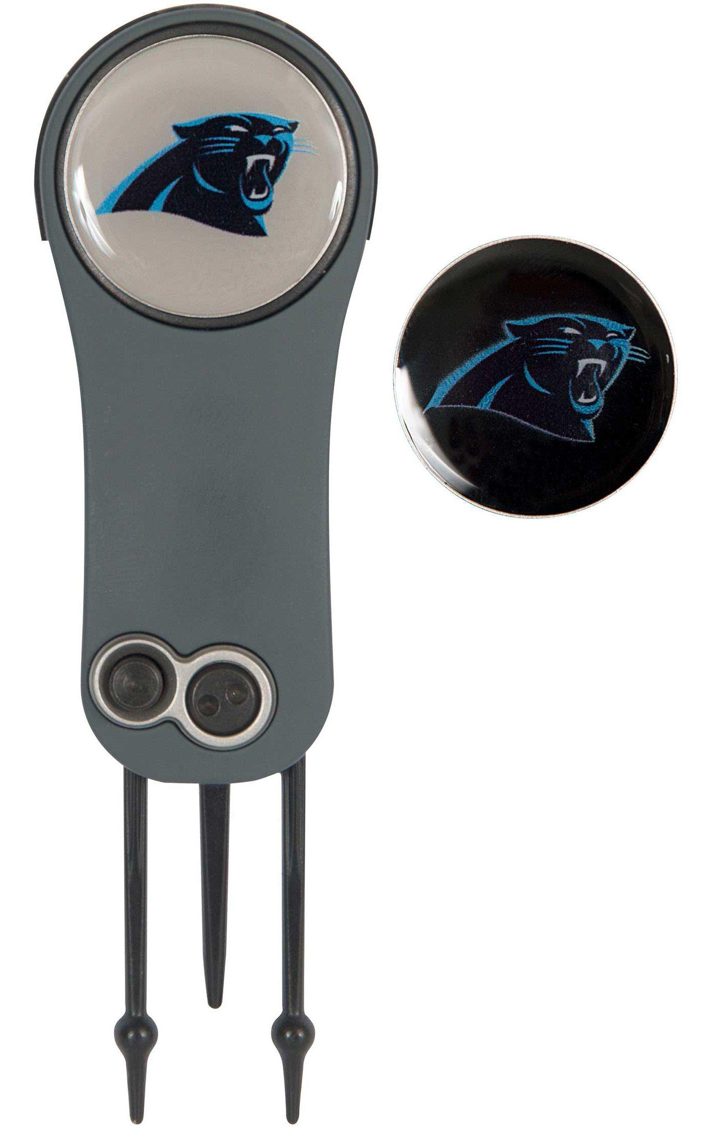 Team Effort Carolina Panthers Switchblade Divot Tool and Ball Marker Set