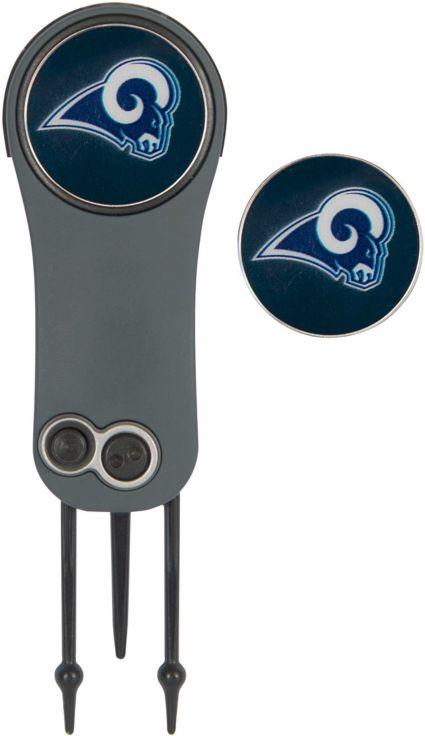 Team Effort Los Angeles Rams Switchblade Divot Tool and Ball Marker Set