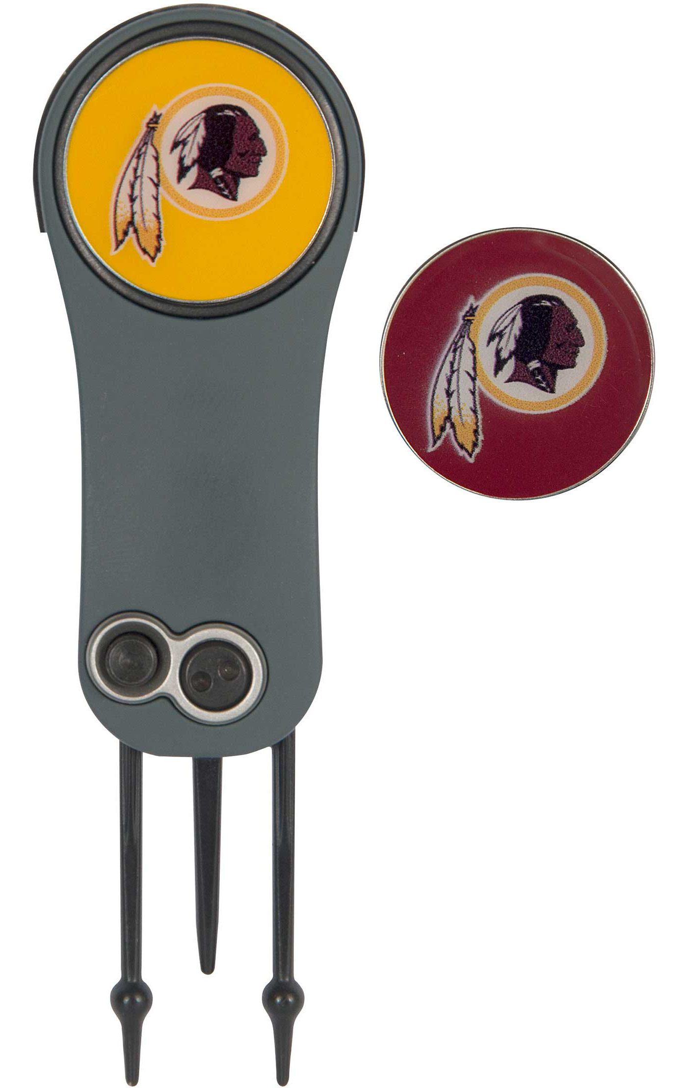 Team Effort Washington Redskins Switchblade Divot Tool and Ball Marker Set