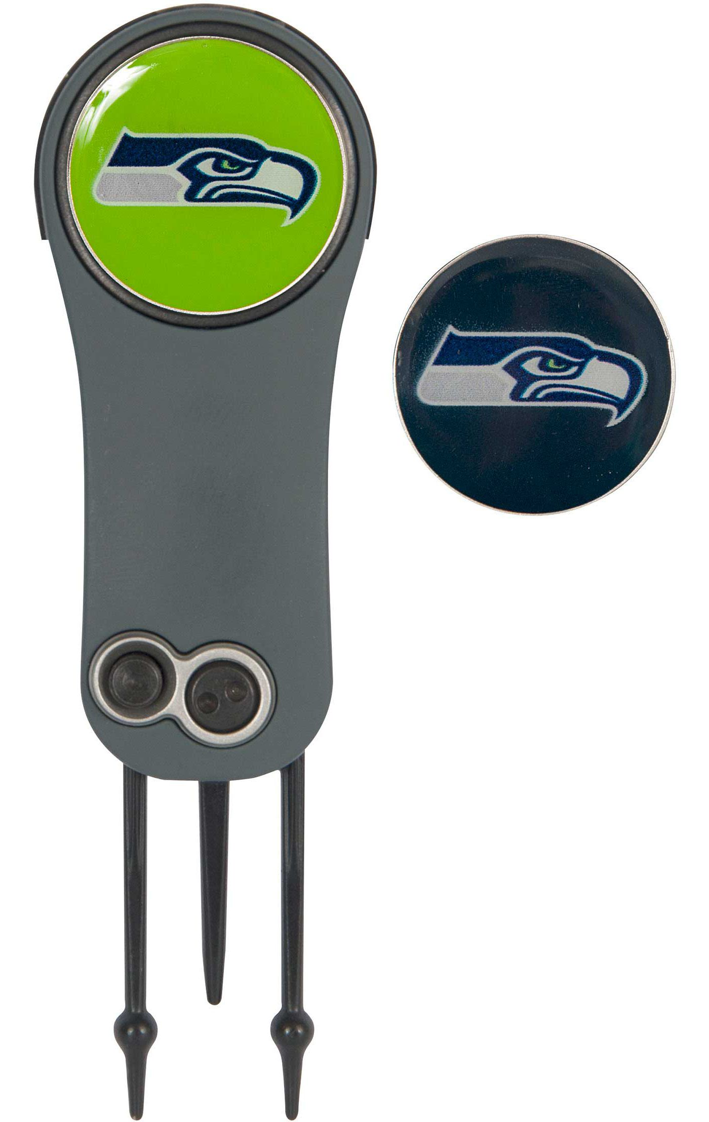 Team Effort Seattle Seahawks Switchblade Divot Tool and Ball Marker Set