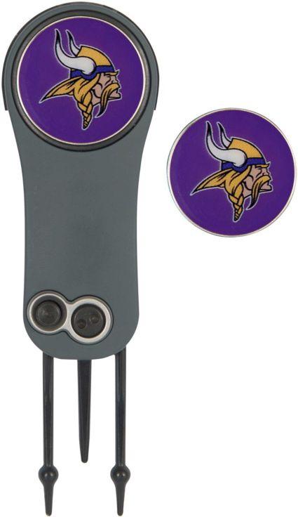 Team Effort Minnesota Vikings Switchblade Divot Tool and Ball Marker Set