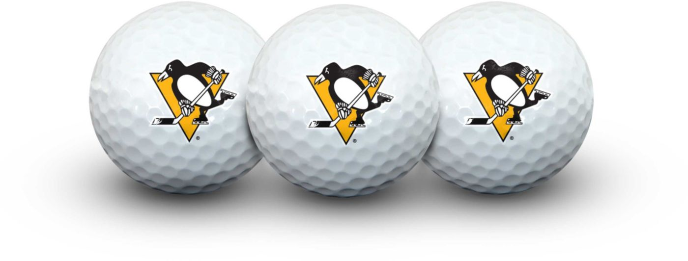 Team Effort Pittsburgh Penguins Golf Balls - 3 Pack