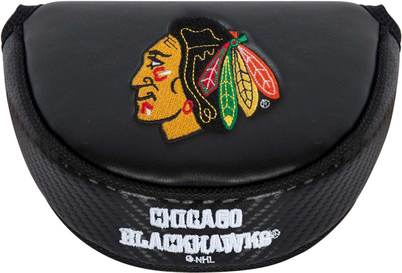 Team Effort Chicago Blackhawks Mallet Putter Headcover