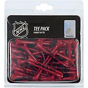 "Team Effort New Jersey Devils 2.75"" Golf Tees - 40 Pack"