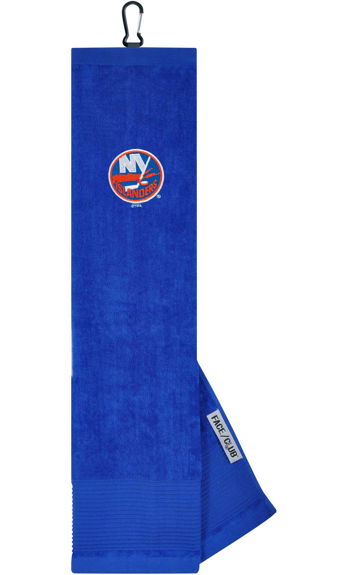 Team Effort New York Islanders Embroidered Face/Club Tri-Fold Towel