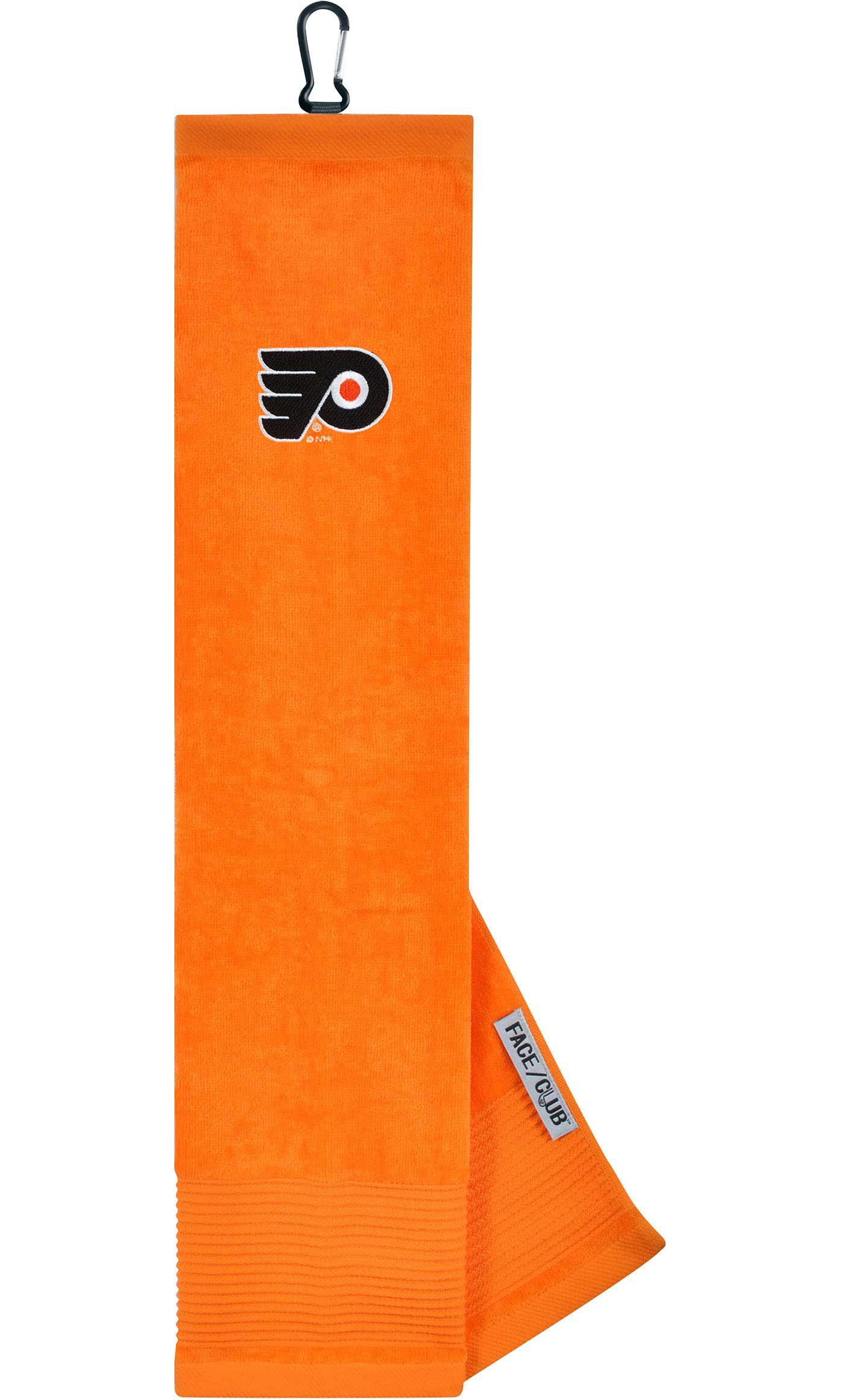 Team Effort Philadelphia Flyers Embroidered Face/Club Tri-Fold Towel