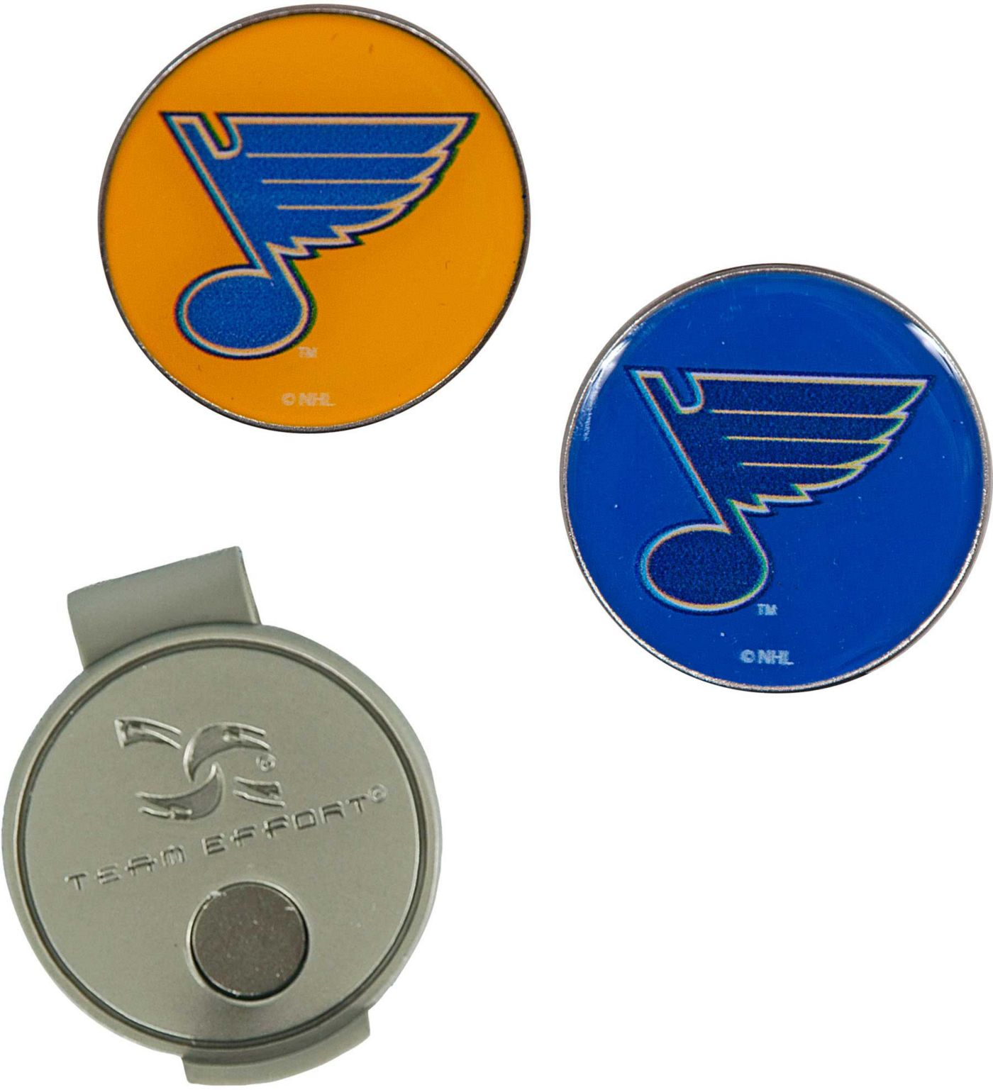 Team Effort St. Louis Blues Hat Clip and Ball Markers Set
