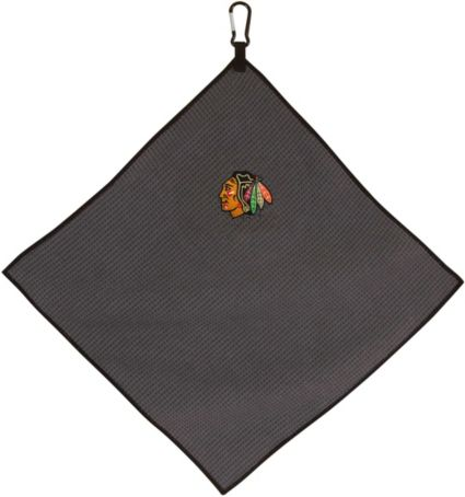"Team Effort Chicago Blackhawks 15"" x 15"" Microfiber Golf Towel"