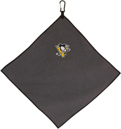 "Team Effort Pittsburgh Penguins 15"" x 15"" Microfiber Golf Towel"