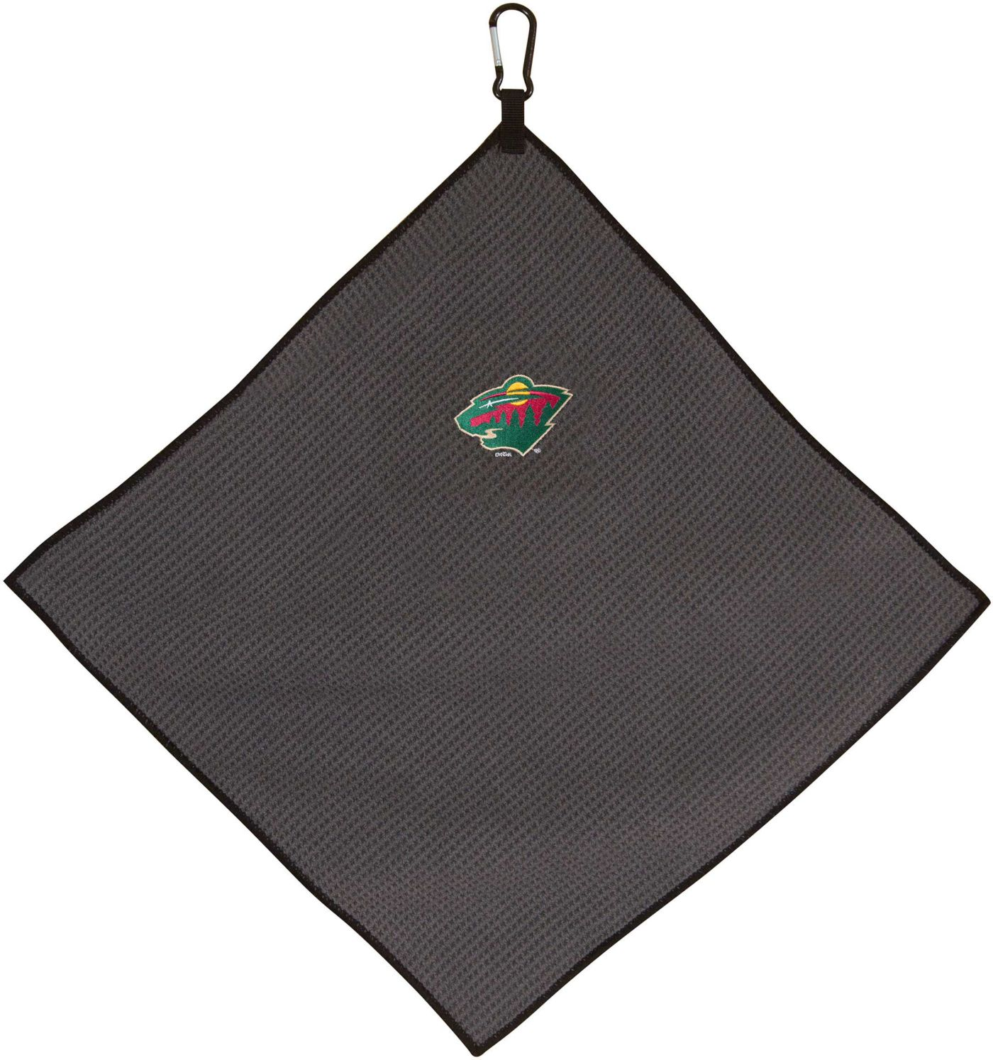 "Team Effort Minnesota Wild 15"" x 15"" Microfiber Golf Towel"