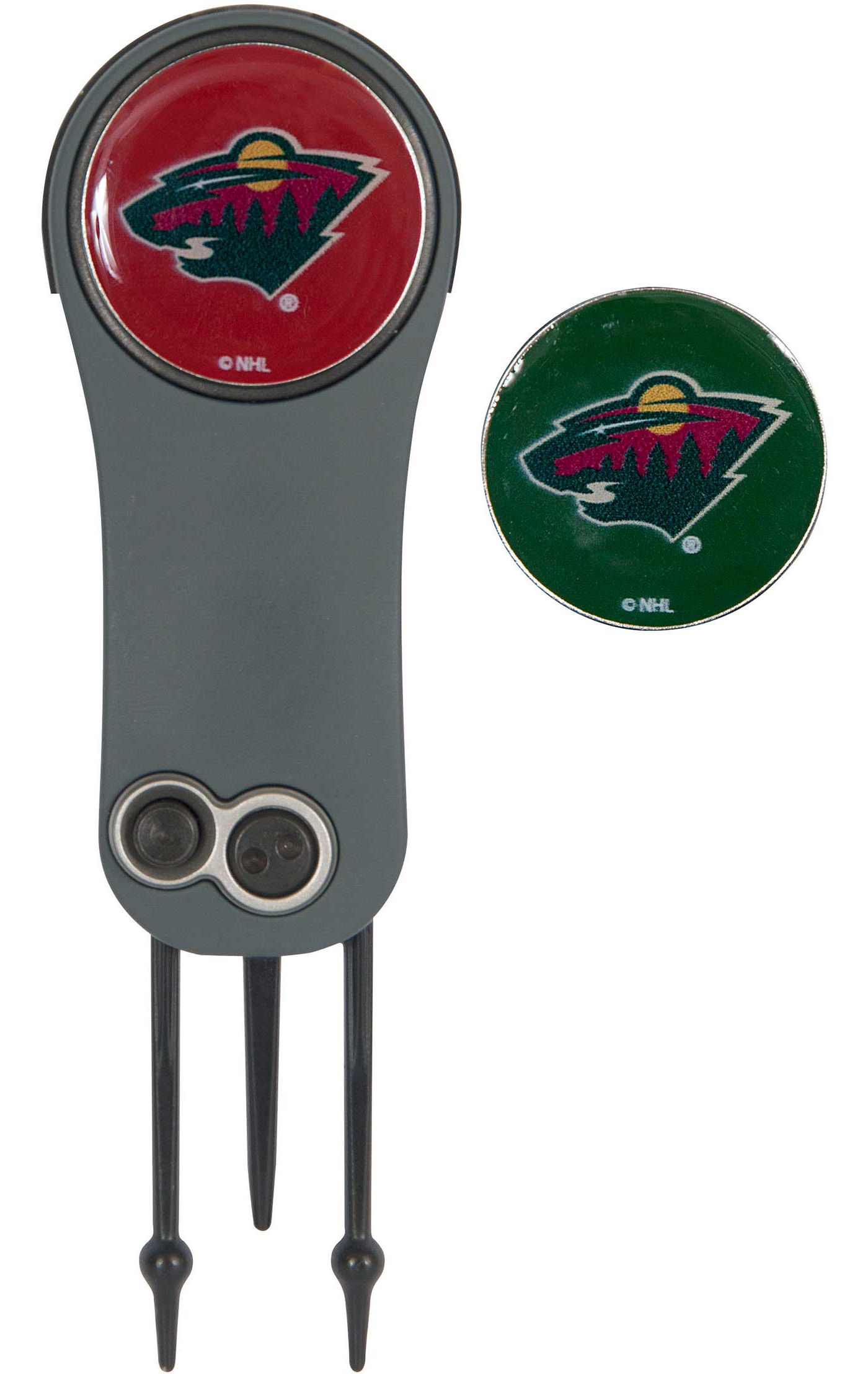 Team Effort Minnesota Wild Switchblade Divot Tool and Ball Marker Set