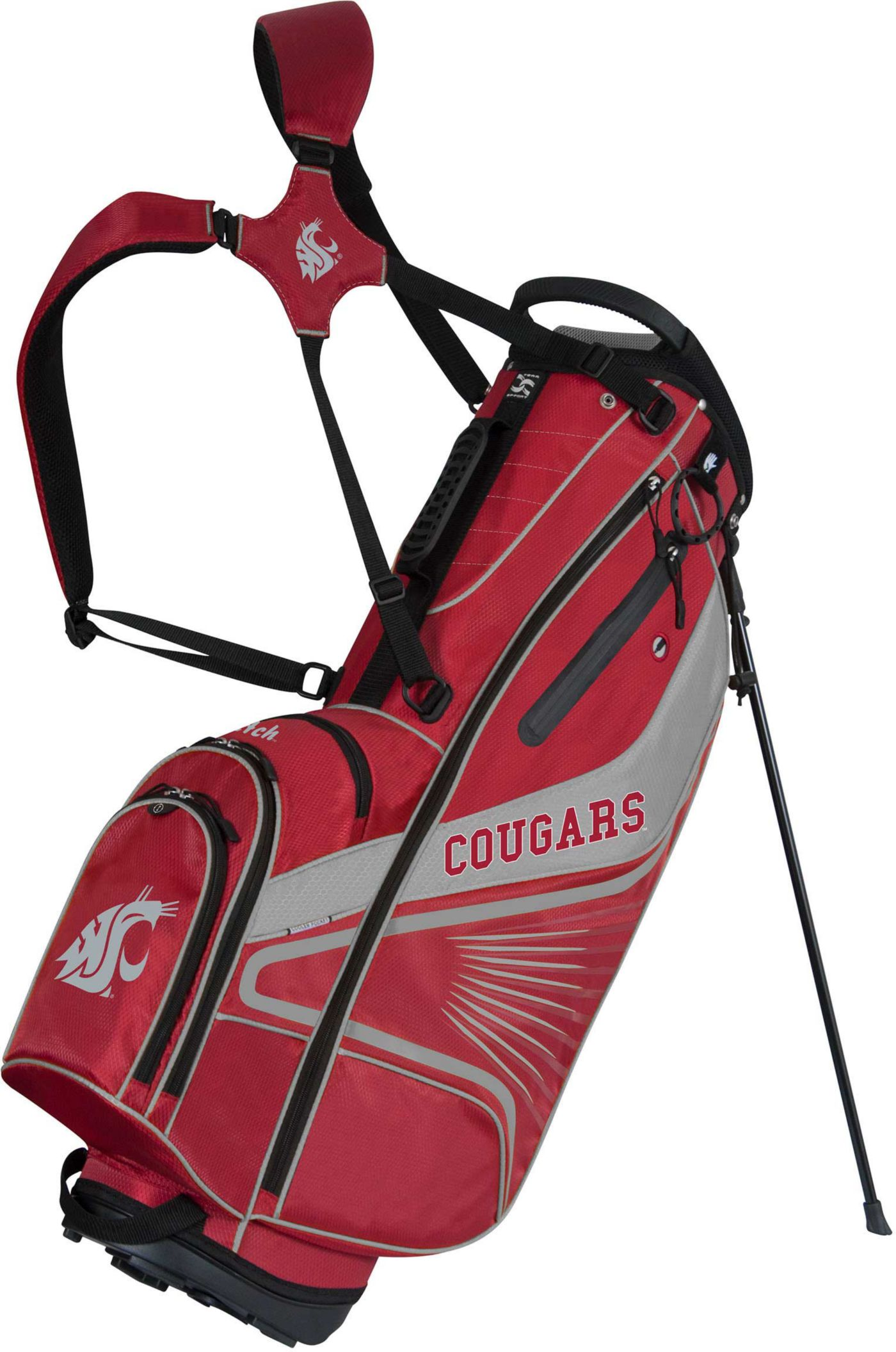 Team Effort Washington State Cougars Gridiron III Stand Bag