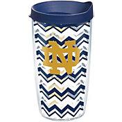 Tervis Notre Dame Fighting Irish 16oz. Clear Chevron Tumbler
