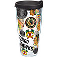 Tervis Chicago Blackhawks All Over 24oz. Water Bottle