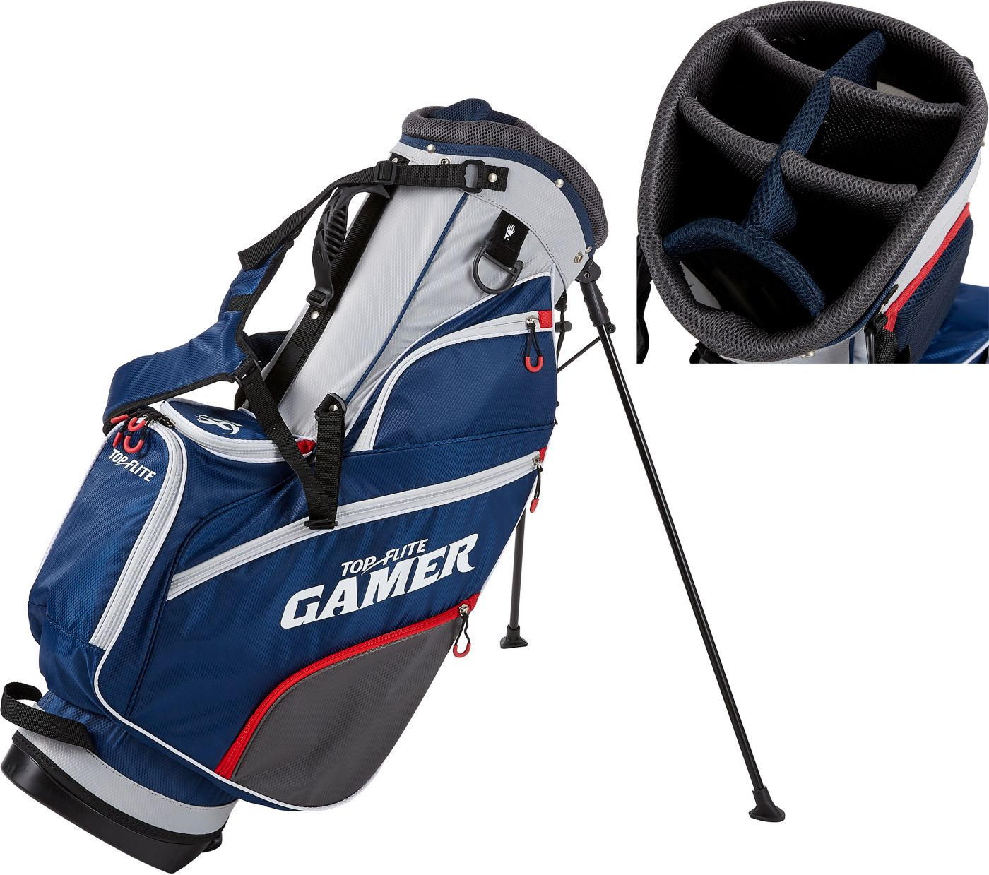 Top Flite 2019 Gamer Golf Stand Bag