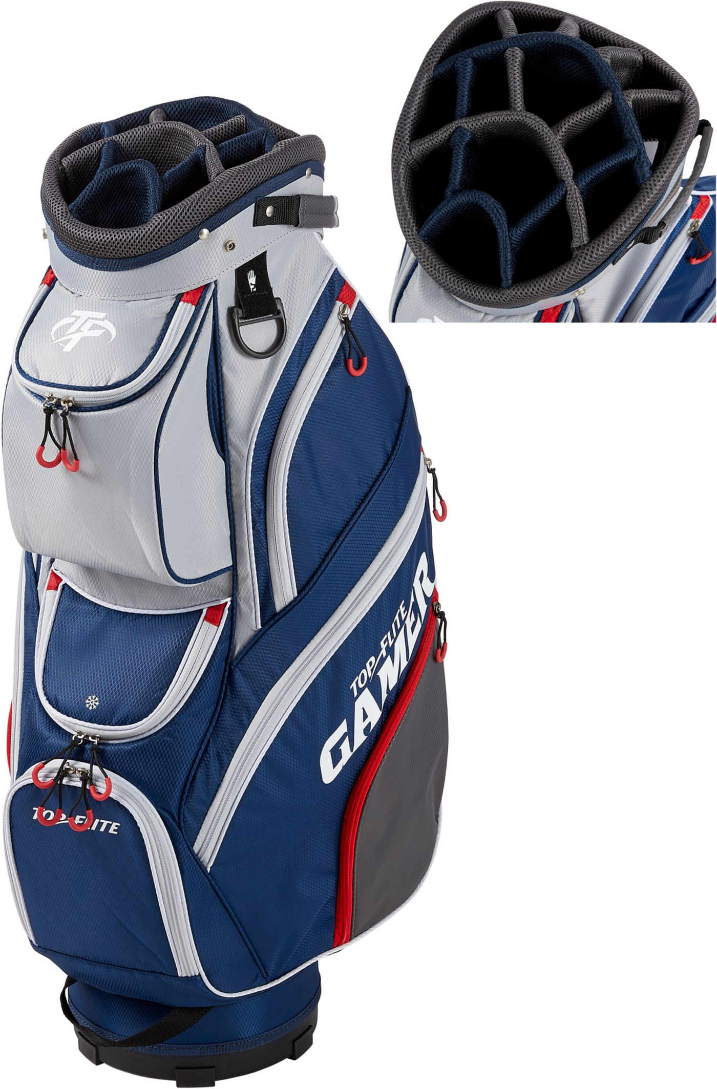 Top Flite 2019 Gamer Golf Cart Bag