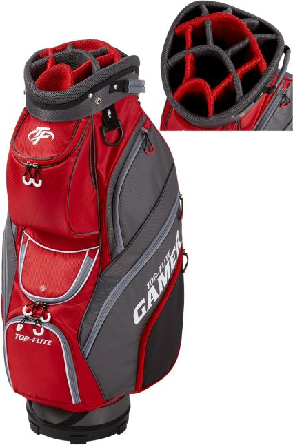 Top Flite 2019 Gamer Golf Cart Bag