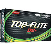 Top Flite D2+ Feel Personalized Golf Balls ? 15 Pack