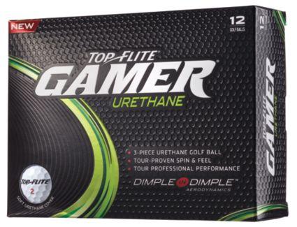 Top Flite Gamer Urethane Personalized Golf Balls