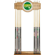 Trademark Global Boston Celtics Cue Rack with Mirror