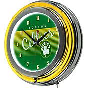 Trademark Global Boston Celtics Hardwood Classic Clock
