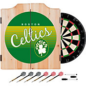 Trademark Global Boston Celtics Hardwood Classic Dart Set