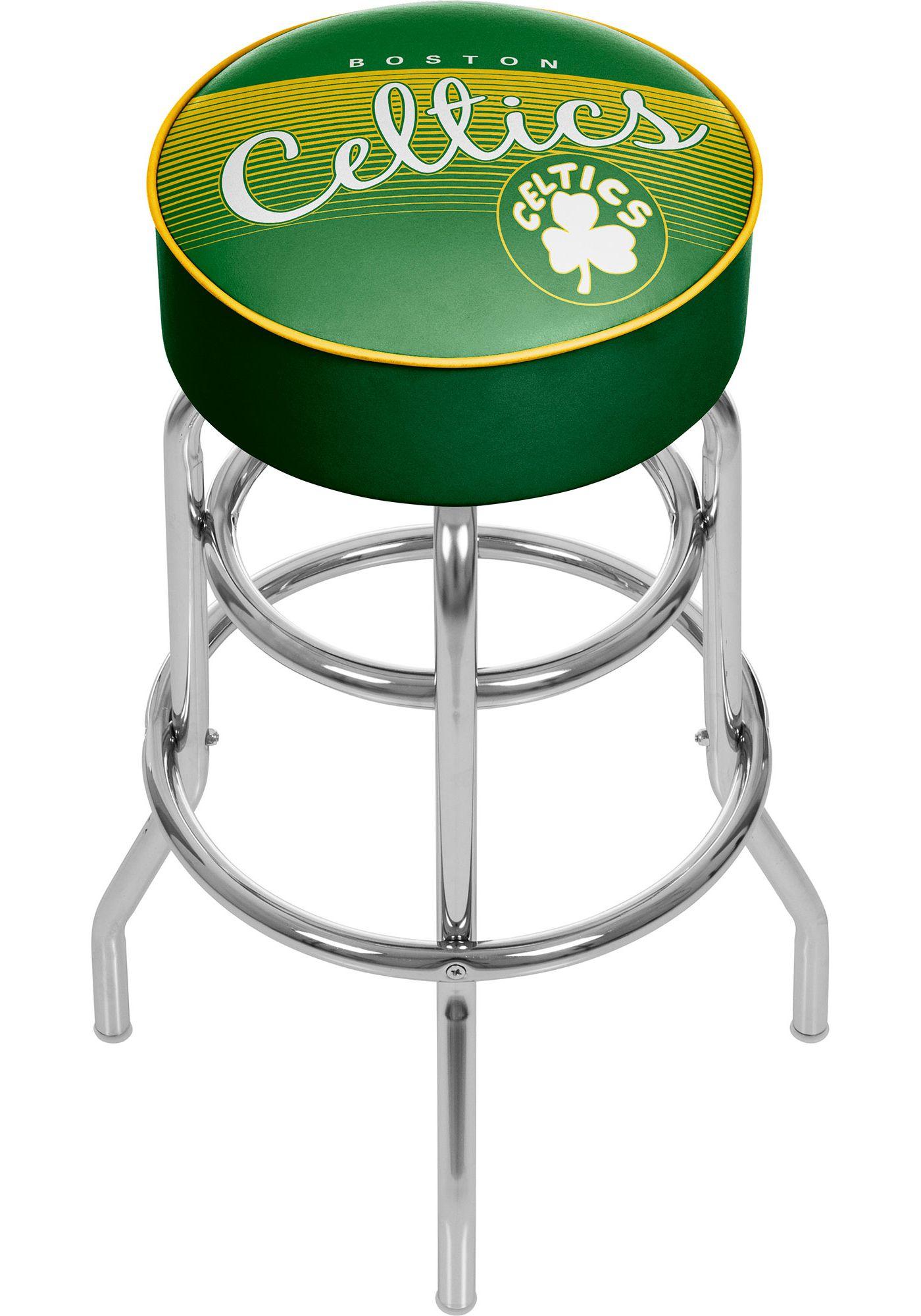 Trademark Global Boston Celtics Hardwood Classic Stool