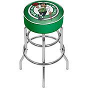 Trademark Global Boston Celtics Padded Bar Stool