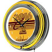 Trademark Global Cleveland Cavaliers 2016 Champions Neon Clock