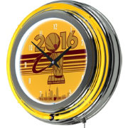 Trademark Global Cleveland Cavaliers 2016 Champions Neon Clock