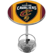 Trademark Global Cleveland Cavaliers Chrome Pub Table