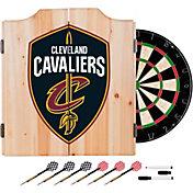Trademark Global Cleveland Cavaliers Dart Cabinet Set