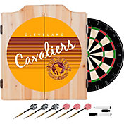 Trademark Global Cleveland Cavaliers Hardwood Classic Dart Set