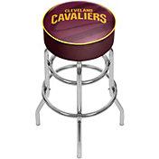 Trademark Global Cleveland Cavaliers Fade Logo Bar Stool