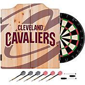 Trademark Global Cleveland Cavaliers Logo Dart Cabinet Set