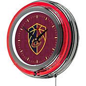 Trademark Global Cleveland Cavaliers BB Club Neon Clock