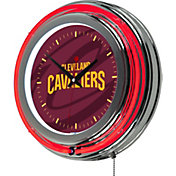 Trademark Global Cleveland Cavaliers Fade Logo Neon Clock