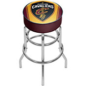 Trademark Global Cleveland Cavaliers Padded Bar Stool