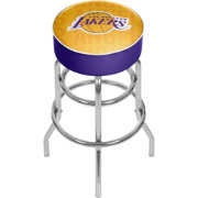 Trademark Global Los Angeles Lakers Basketball Club Stool